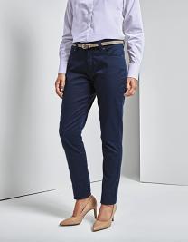 Ladies` Performance Chino Jeans