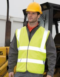 High Vis Motorway Vest